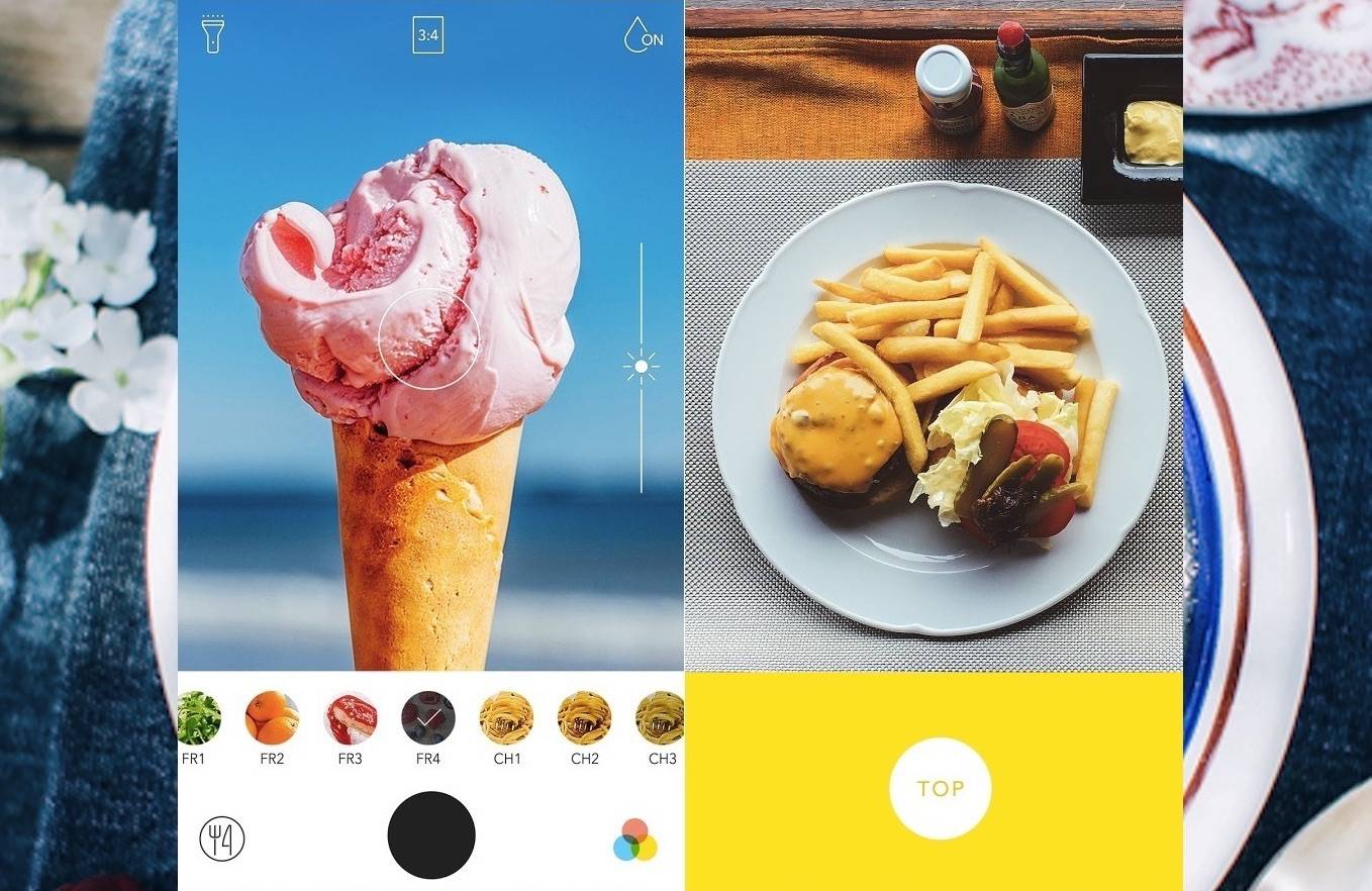 foodie app for food photography best camera apps for android