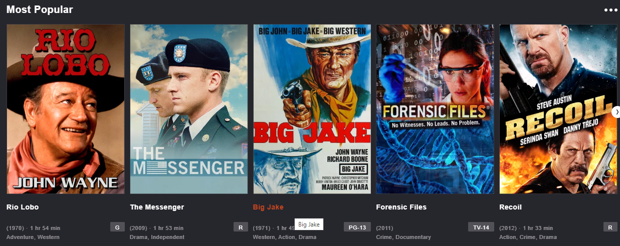 tubitv stream movies online without registration
