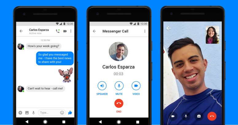 messeneger video call one of the best video chat apps for android