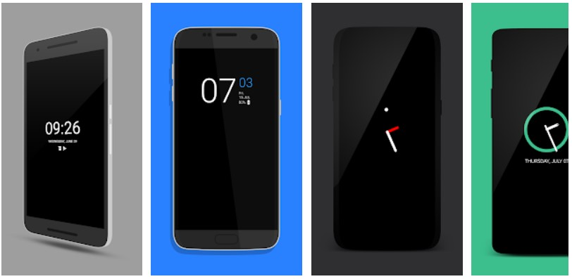 Always on AMOLED lockscreen apps for android