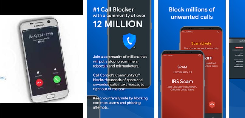 call control -- call blocker apps for android