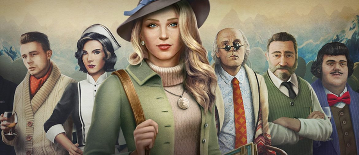 murder in the alps ~ hidden object games