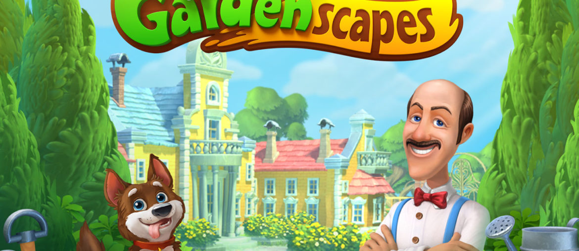 gardenscapes best puzzle games for Android and iOS