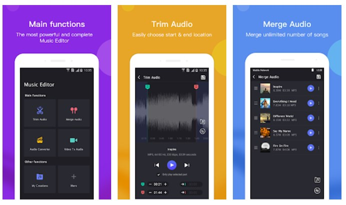 music editor pro garageband alternatives for Android