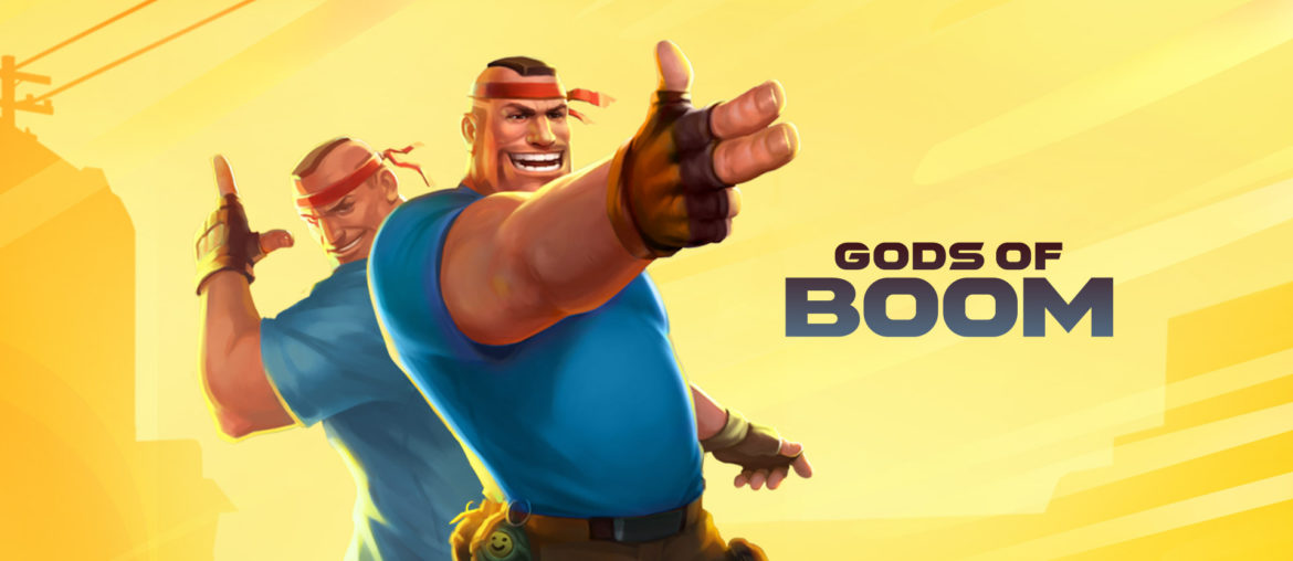 gods of boom - best online multiplayer games like among us